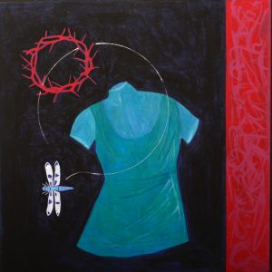 Harm done | 60x60 | tempera | 900 €